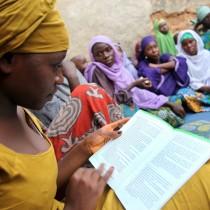 Women gather for Ku Saurara project activities in Kano, Nigeria.